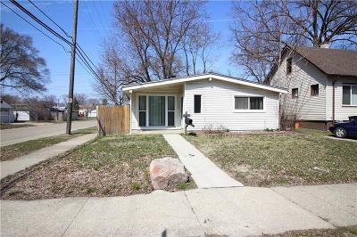 Hazel Park Single Family Home For Sale: 1405 E George Ave