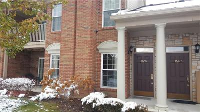 Rochester Condo/Townhouse For Sale: 3626 Oakmonte Blvd