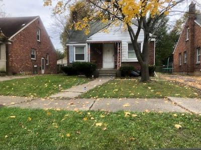 Detroit Single Family Home For Sale: 7709 Dolphin