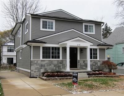Royal Oak Single Family Home For Sale: 619 E University Ave