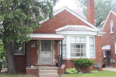 Detroit Single Family Home For Sale: 17501 Mendota St