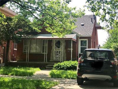 Detroit Single Family Home For Sale: 20017 Packard St