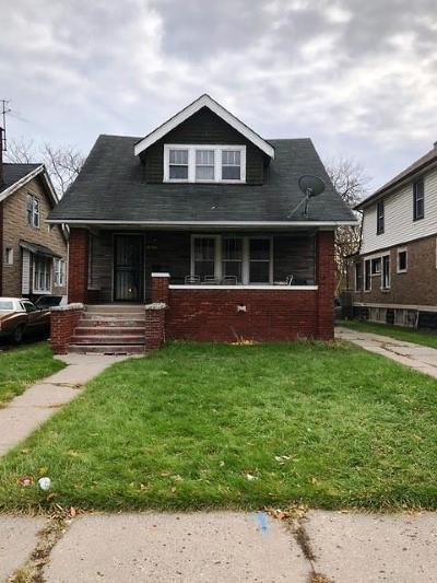 Detroit Single Family Home For Sale: 11728 Kilbourne St