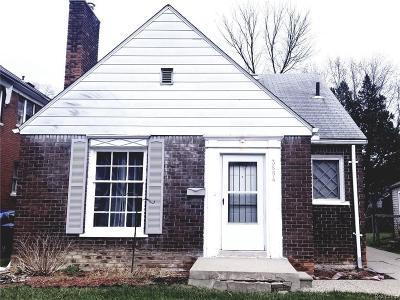 Detroit Single Family Home For Sale: 3684 Buckingham St
