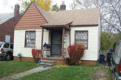 Detroit Single Family Home For Sale: 15273 State Fair St