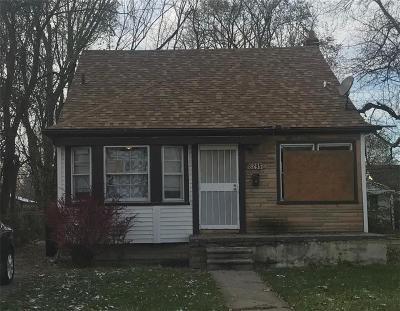Detroit Single Family Home For Sale: 8295 Burt Rd