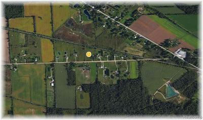 Richmond MI Residential Lots & Land For Sale: $65,000
