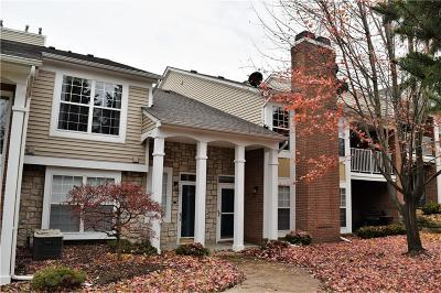Sterling Heights MI Condo/Townhouse For Sale: $155,000