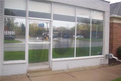 Commercial Lease For Lease: 30203 Harper Ave