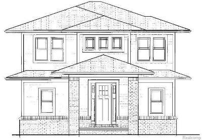 Huntington Woods Single Family Home For Sale: 10135 Kingston