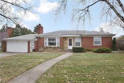 Royal Oak Single Family Home For Sale: 4003 Auburn Dr