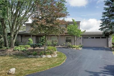 West Bloomfield Single Family Home For Sale: 3505 Valleyview Crt