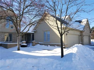 Macomb MI Condo/Townhouse For Sale: $275,000