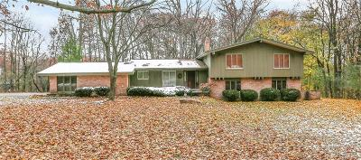 Bloomfield Hills Single Family Home For Sale: 1200 Burnham Rd