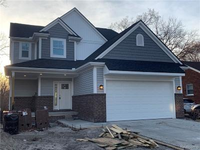 Rochester Hills Single Family Home For Sale: Hessel Ave