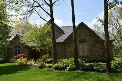 Clarkston Single Family Home For Sale: 9283 Lakebluff Dr
