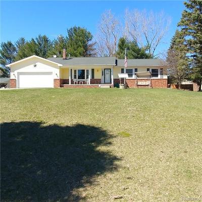 Lapeer Single Family Home For Sale: 5007 Laur