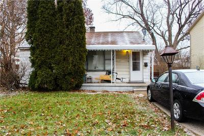 Madison Heights Single Family Home For Sale: 26338 Delton St