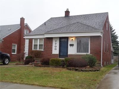 Allen Park Single Family Home For Sale: 7700 Osage Ave