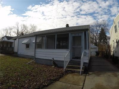 Lincoln Park Single Family Home For Sale: 4112 Abbott Ave