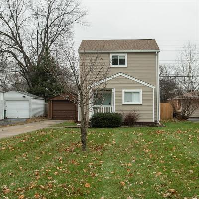 Royal Oak Single Family Home For Sale: 4002 Kent Rd