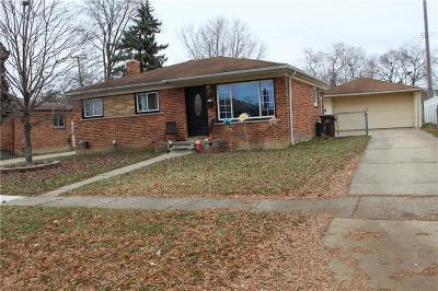 Wayne Single Family Home For Sale: 4139 Garfield St