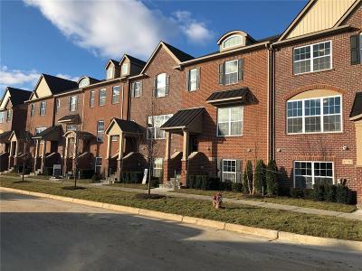 Northville Condo/Townhouse For Sale: 47706 Leland Dr