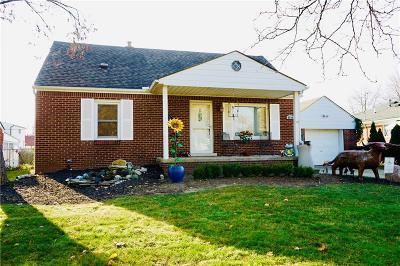 Center Line Single Family Home For Sale: 8640 Warren Blvd