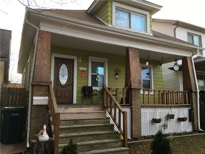 Lincoln Park Single Family Home For Sale: 617 Park Ave