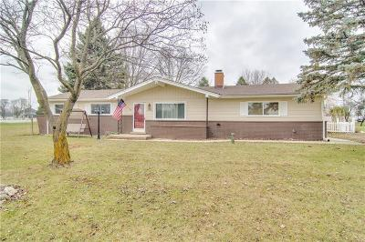 Macomb MI Single Family Home For Sale: $199,900