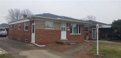 Dearborn Heights Single Family Home For Sale: 6562 Robindale Ave