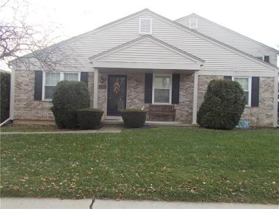 Clinton Township Condo/Townhouse For Sale: 15816 N Franklin Dr