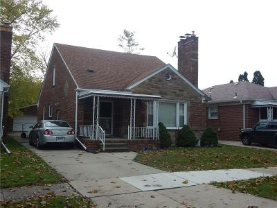 Dearborn Single Family Home For Sale: 6951 Fenton St