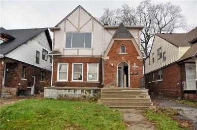 Detroit Multi Family Home For Sale: 13233 Santa Rosa Dr