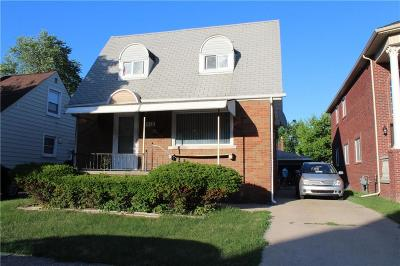 Dearborn Single Family Home For Sale: 5010 Kenilworth St