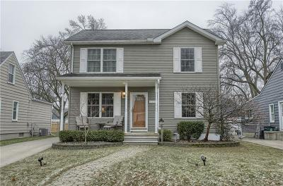 Royal Oak Single Family Home For Sale: 1210 Donald Ave