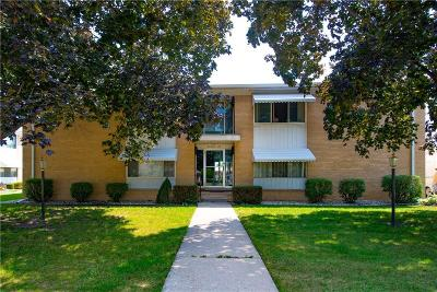 Saint Clair Shores Condo/Townhouse For Sale: 21324 Beaconsfield St