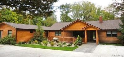Single Family Home For Sale: 7500 Pingree Rd