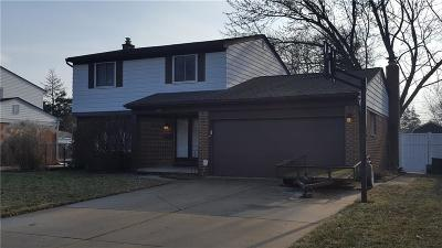 Sterling Heights Single Family Home For Sale: 8702 Alwardt Dr
