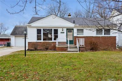 Saint Clair Shores Single Family Home For Sale: 32501 Robeson St