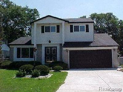 Southfield Single Family Home For Sale: 18885 Carmona St
