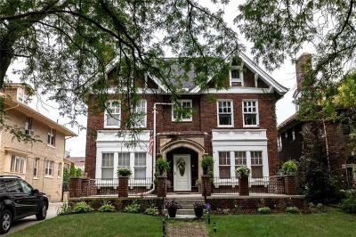 Detroit Single Family Home For Sale: 2036 W Boston Blvd