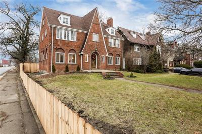Detroit Single Family Home For Sale: 1756 W Boston Blvd