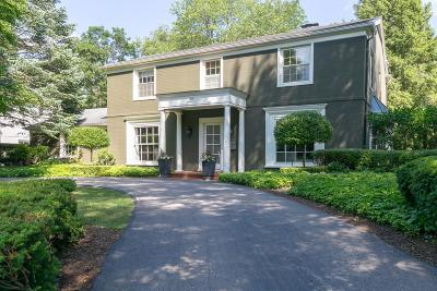 Bloomfield Hills Single Family Home Sold: 500 Overhill Rd