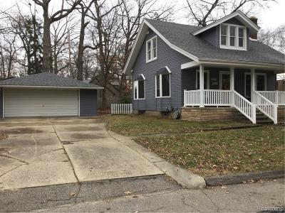 Royal Oak Single Family Home For Sale: 2318 Red Run Crt