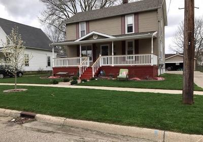 Flushing Single Family Home For Sale: 214 N Maple St