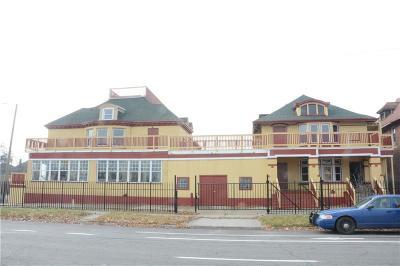 Detroit Single Family Home For Sale: 799 E Grand Blvd