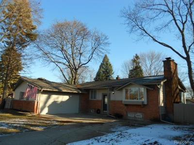 Auburn Hills Single Family Home For Sale: 2300 Old Salem Rd