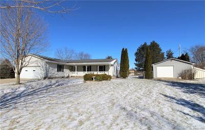 Lapeer Single Family Home For Sale: 36 Cherokee Trl