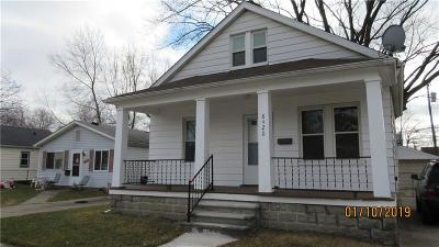 Warren Single Family Home For Sale: 8420 Continental Ave